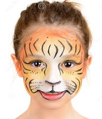 lion face paint ideas gallery lion face painting ideas drawings art gallery