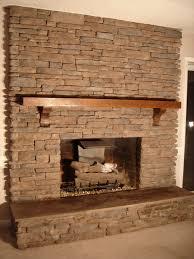 Stone Fireplace Remodel Stone Tile Fireplace Surround Fireplace Pinterest Tiled