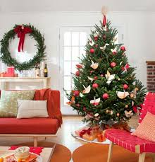 Extraordinary Modern Decorated Christmas Trees 46 For Home Pictures with Modern  Decorated Christmas Trees