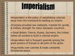 Reasons For Imperialism The Reasons For The European Expansion That Started In 1905 Term