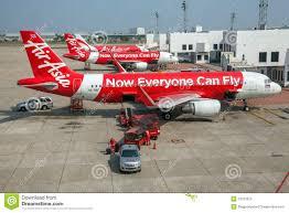 Bangkok-Flughafen Air Asia redaktionelles bild. Bild von asia - 53787870