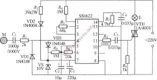 ss0622 based touch sensitive step dimmer circuit