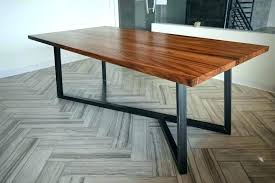 rustic wood dining table metal and wood dining table wood and steel dining table modern minimalist rustic wood dining table