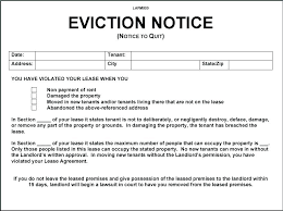 Free Eviction Notice Template Sample Eviction Notice Form Free Eviction Notice Template For Letter Sample 3 Day Form