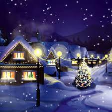 Christmas Snowfall Animated Wallpaper Free Download And