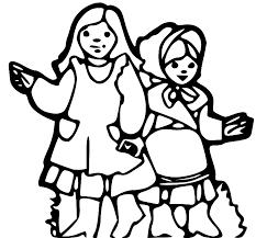 pioneer girl clipart. pioneer girl clipart o