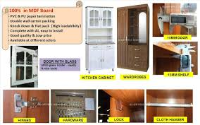 Knock Down Kitchen Cabinets Modern Designs Cupboard Kitchen Cabinet For Home Furnituremdf