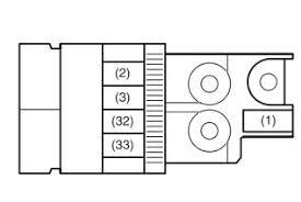 maruti suzuki ritz (petrol) fuse box diagram auto genius Suzuki Swift Fuse Box Diagram maruti suzuki ritz fuse box engine compartment 1 (petrol) 2001 suzuki swift fuse box diagram