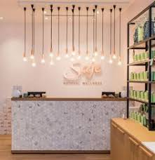 salon lighting ideas. saje natural wellness by jennifer dunn design halifax nova scotia u2013 canada retail salon lighting ideas