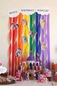 best 25 rainbow birthday decorations ideas