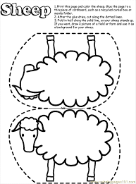 Small Picture Lamb Coloring Page Trendy Mary Had A Little Lamb Coloring Page