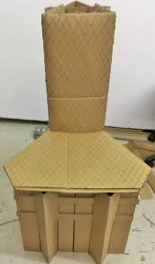 Unique cardboard chairs : Making Cardboard Chairs without Glue ...