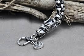 <b>Genuine 100</b>% <b>Real Pure</b> 925 Sterling Silver Bracelet 5 <b>7MM</b> ...