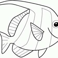 Small Picture Angel Fish Coloring Page Fish Coloring Pages View Full Size