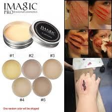 Imagic Halloween Fake Scar Repair Cover Scarring Cream Body Painting Makeup Random Color