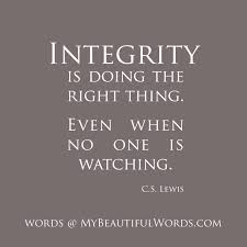 Quotes Work Integrity Quotes