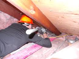 Attic Prep Part  Vent Chutes Evan  Katelyn Home DIY Tutorials - Bathroom venting into attic