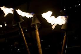 outdoor lighting ideas for parties. Unique Parties Tiki Torches On Outdoor Lighting Ideas For Parties