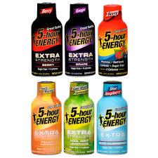 5 hour energy regular strength pion fruit flavor low calorie single energy shot walmart