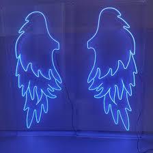 china customized size led rgb angel