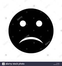 Illustration Sad Emoji Icon Stock Photo 241557708 Alamy