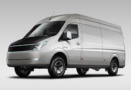 Light Van Iona Van Pure Electric Vehicle Avevai