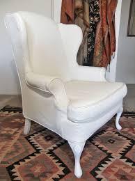 wingback chair slipcover in diamond pattern matelasse by slipcovermaker com
