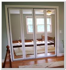 mirrored closet doors. Image Of: Stanley Bifold Mirror Closet Doors Mirrored E