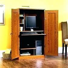 solid oak hidden home. Hidden Office Desk Unusual Projects Baumhaus Mobel Solid Oak  Home Computer