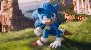New Design For Sonic Sonic The Hedgehog Looks Good In The New Movie Trailer