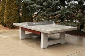 how to build an outdoor table tennis designs