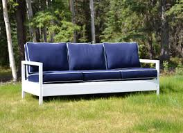 diy outdoor furniture couch. Modren Diy Build A Simple Yet Elegantly Modern Outdoor Bench On The Cheap For Only  Around 30 In Lumber Blogger Ana White Recreated Restoration Hardware Sofa For  In Diy Outdoor Furniture Couch T