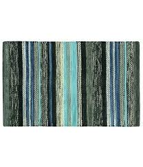 blue accent rug striped cotton accent rug wayfair blue accent rugs