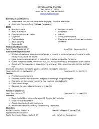 Child Care Resume Unique Child Care Resume Canreklonecco
