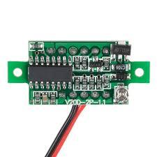 digital led voltmeter prt 14313 sparkfun electronics digital led voltmeter