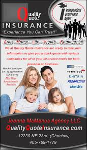 quality quote insurance jeanna mcm agency llc