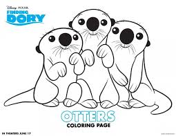 Small Picture Finding Dory Coloring Pages are now available to download and
