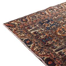 4 9 x 9 5 vintage persian runner rug from 1910s