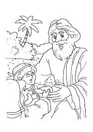 Good Samaritan Coloring Page School Pages Free Bible The Story