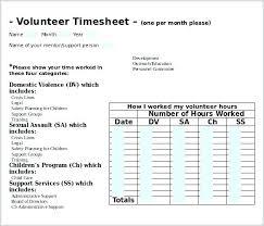 hour log template community service hours log sheet template volunteer images of