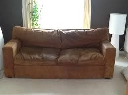 furniture used for sale. used furniture online emarketplace. three seater brown/tan leather sofa plus two chairs for sale