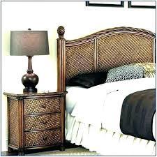 White Cane Bedroom Furniture Wicker Bedroom Set White Wicker ...