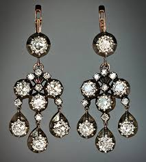 vintage diamond chandelier earrings fantastic vintage diamond chandelier earrings in 2018