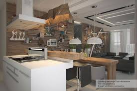 Studio Apartment Architected By Ola Kataevskaj KeriBrownHomes - Modern rustic dining roomodern style living room furniture