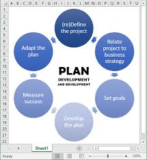 How To Create A Flowchart With Smartart Microsoft Excel 2016