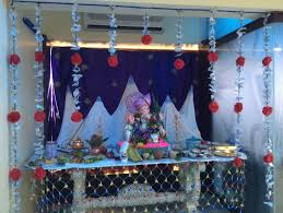 pooja room 429 jpg 844 634 ganapati decoration pinterest