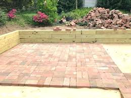 easy brick patio for beginners how to lay bricks patio how to lay