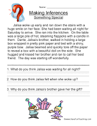 Inferences Worksheets | Have Fun Teaching