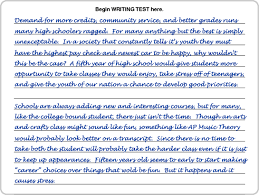 toc act writing sample scored essays image107 gif
