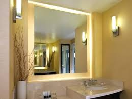 lighted bathroom mirror large size of light marvelous lighted wall mirror and lights design for vanity lighted bathroom mirror